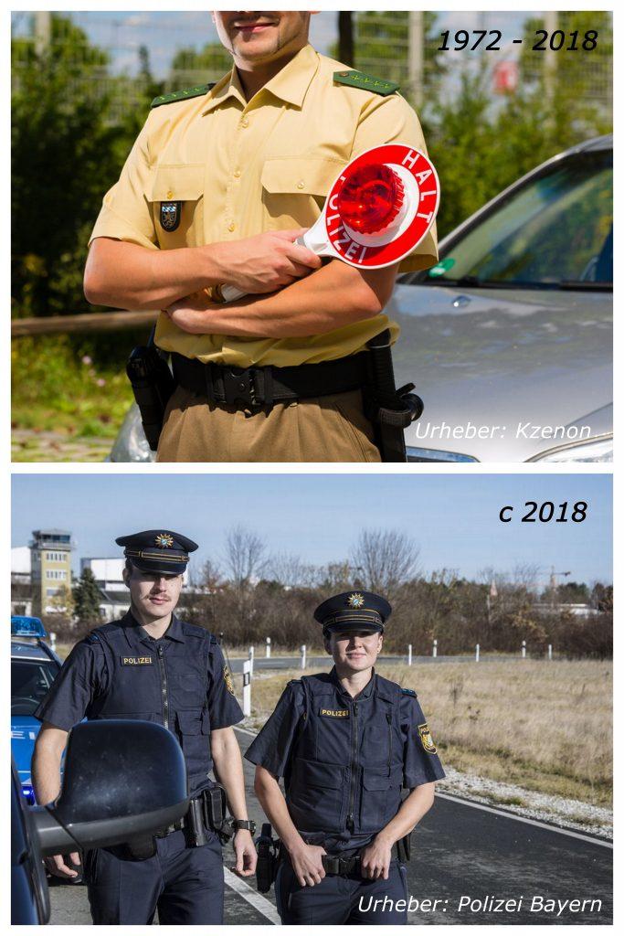 новая форма баварской полиции
